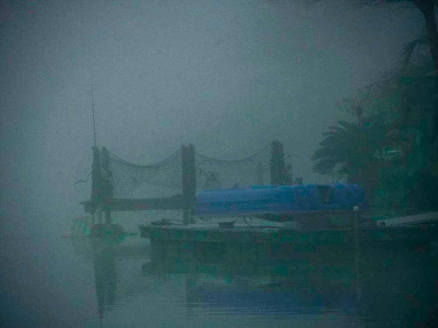 Dock in Fog FLW 2110 g