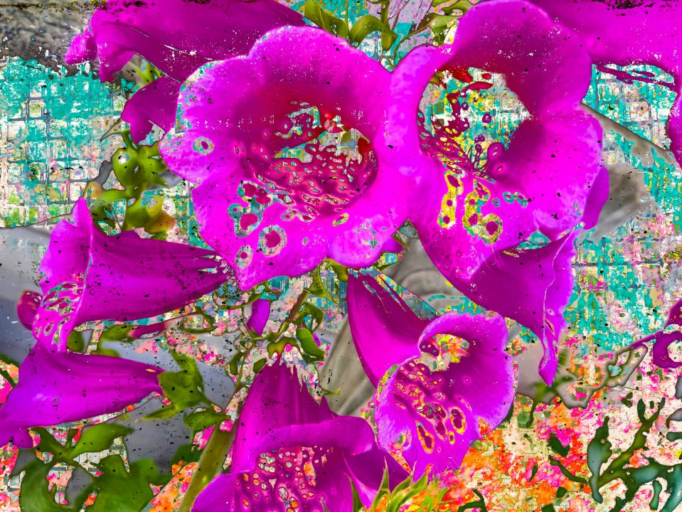 FlowerAbstract FLW 3057 fbcffc