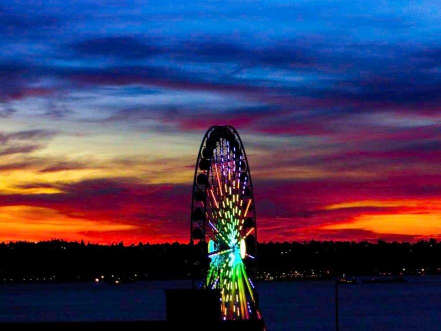 Seattle Sunset FLW 5543 rtref