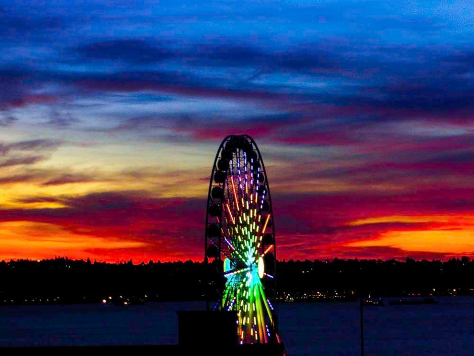 Seattle Sunset FLW 5543 rtref